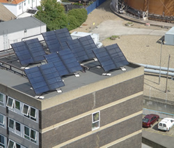 solar heating for tower blocks