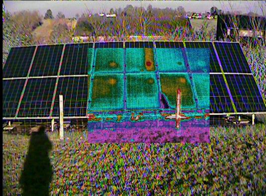 Photovoltaic Panel Thermal Image Diagnostic