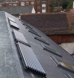 pitched roof solar mounting systems