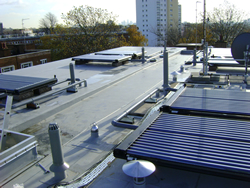 residential solar water heating