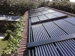 20 Panel Solar Thermal Pool Heating system in Guilford Surrey