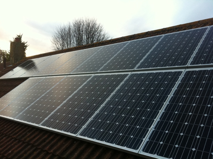 Solar PV 4 KW system on Domestic roof installed in Hastings