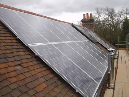 Solar Photovoltaic System and a Solar Thermal solar system on Domestic property