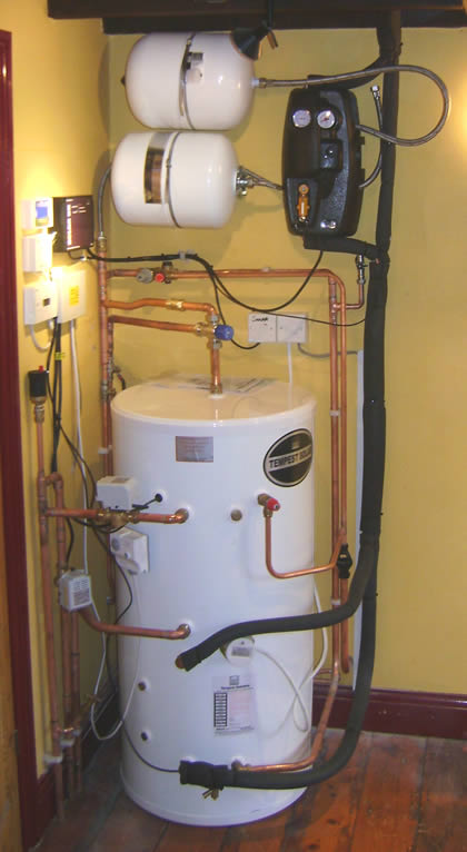 Hot Water Cylinder - Solar hot water storage