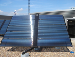 Commercial Solar Panel Tracker Mounting