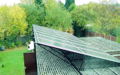 Solar PV on Corrugated Roof
